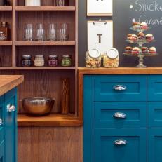 Baker's Corner in Chic, Transitional Kitchen
