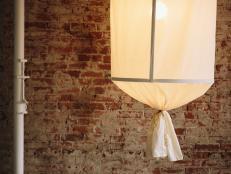 Oversized Pendant Light