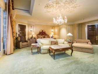 Master Suite: Stunning European Villa in Los Angeles, Calif.