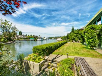 View: Northwest Contemporary Waterfront in Bellevue, Wash.