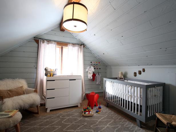 Upstairs Nursery Bedroom