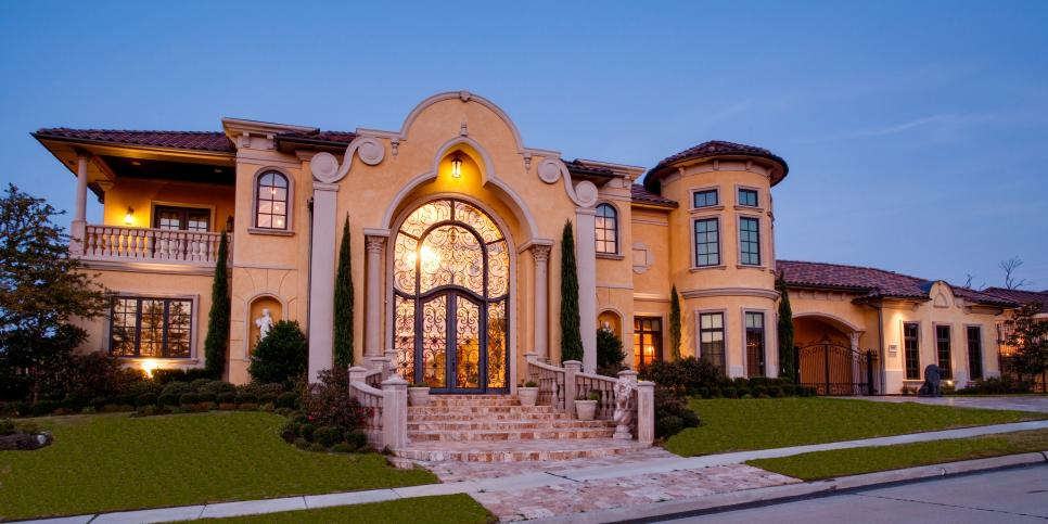 Tour a mediterranean inspired home in frisco texas hgtv for Beautiful mediterranean homes
