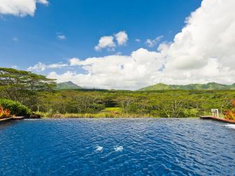 Pool View: South Kauai Estate in Omao, Hawaii