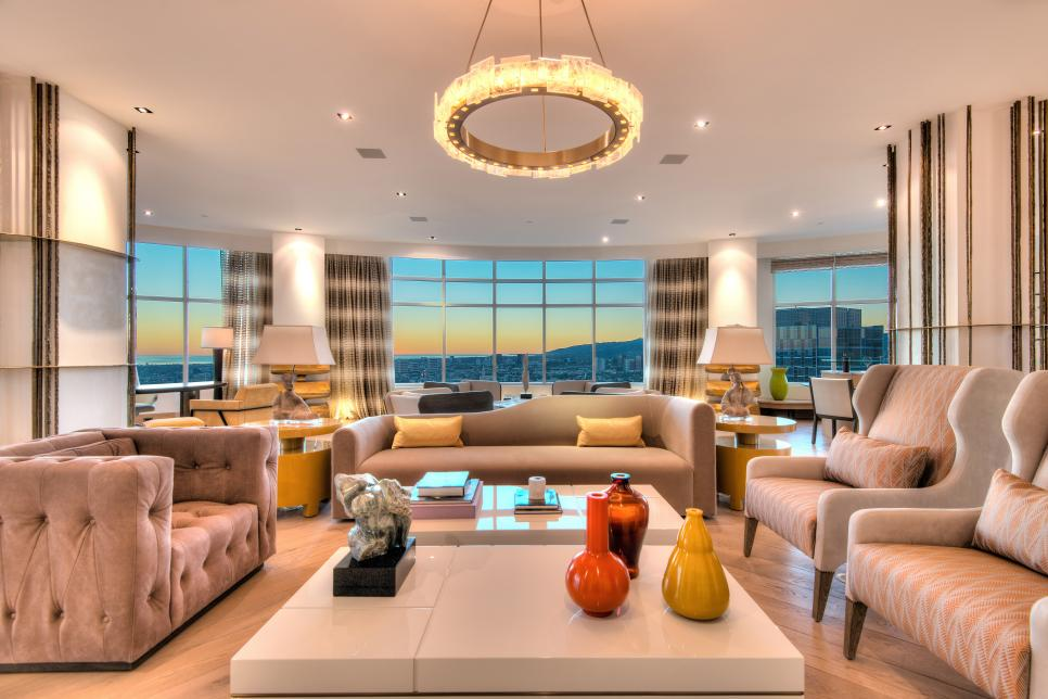 Tour A Custom Penthouse In Los Angeles