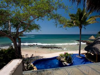 Beach and Pool: Beach Villa Beauty in Puerto Vallarta, Mexico