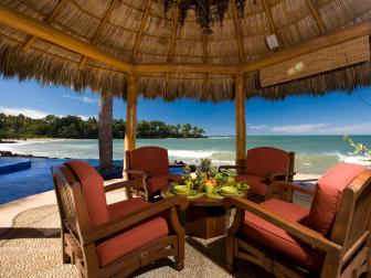 Outdoor Dining Room: Beach Villa Beauty in Puerto Vallarta, Mexico