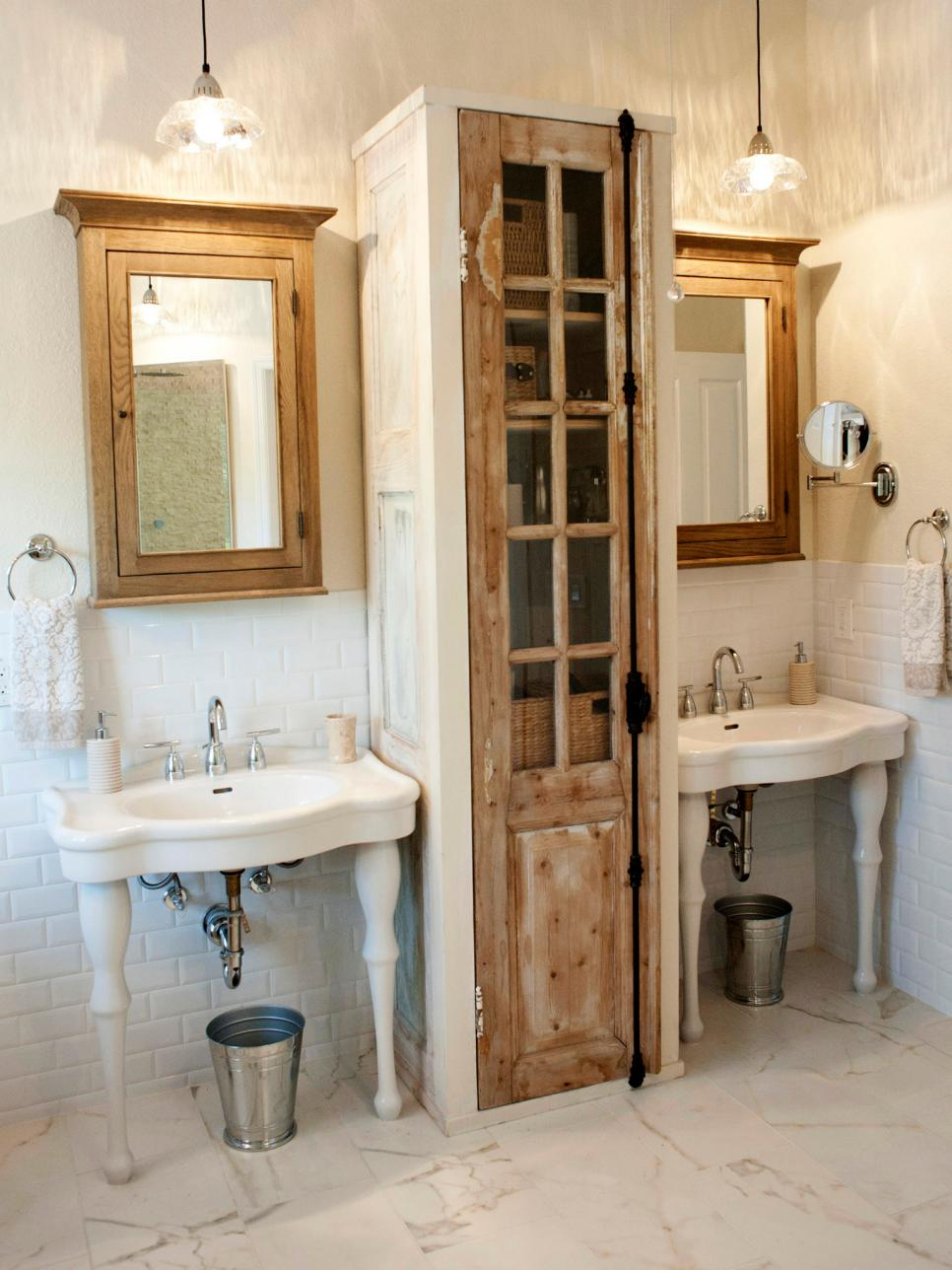 Storage Bathroom Ideas Brilliant 15 Smart Bath Storage Ideas  Hgtv Decorating Inspiration