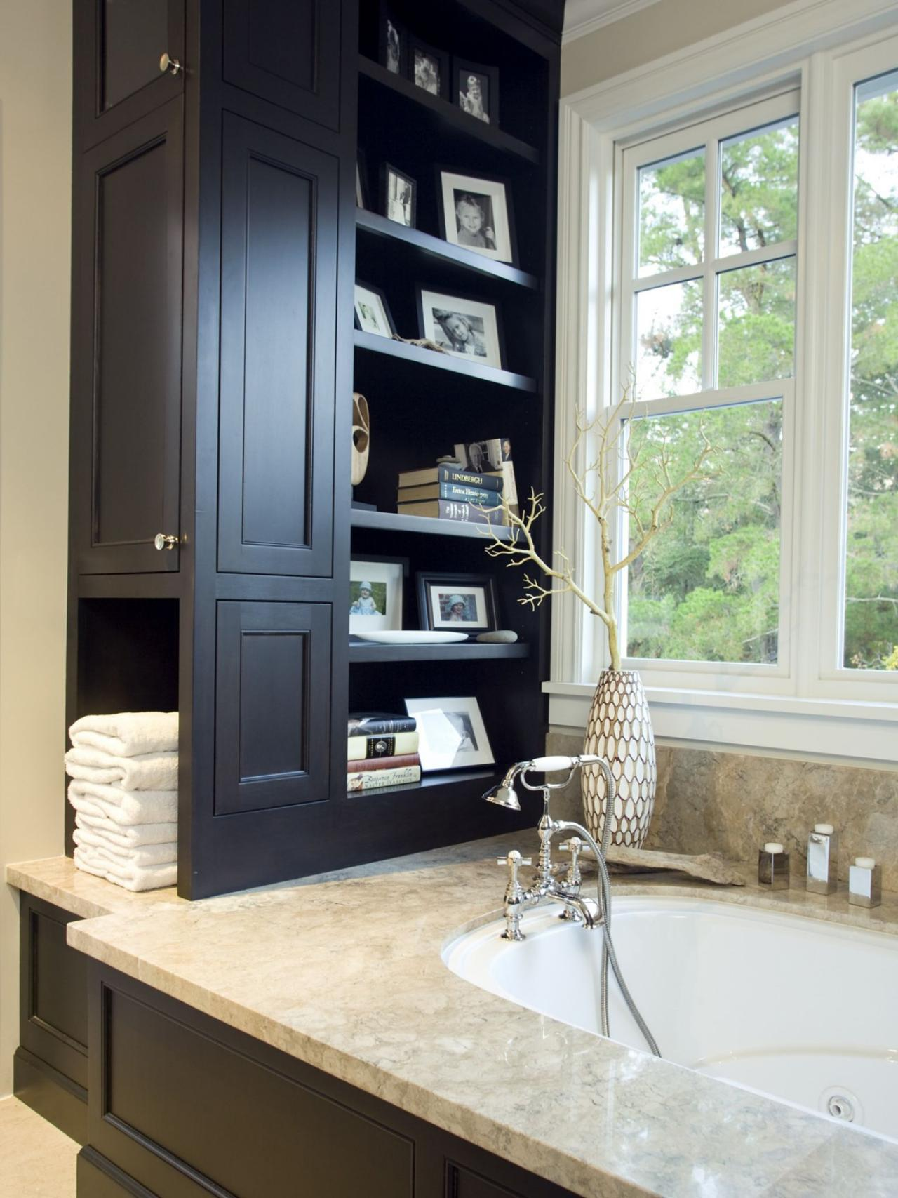 Tall bathroom storage cabinets - Smart Bath Storage Ideas
