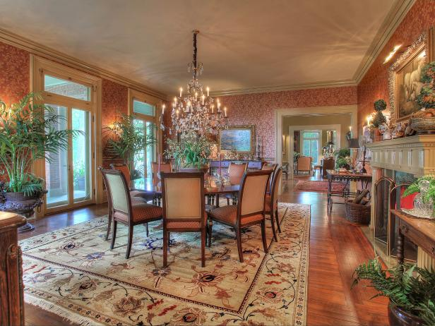 Traditional Dining Room Photos HGTV