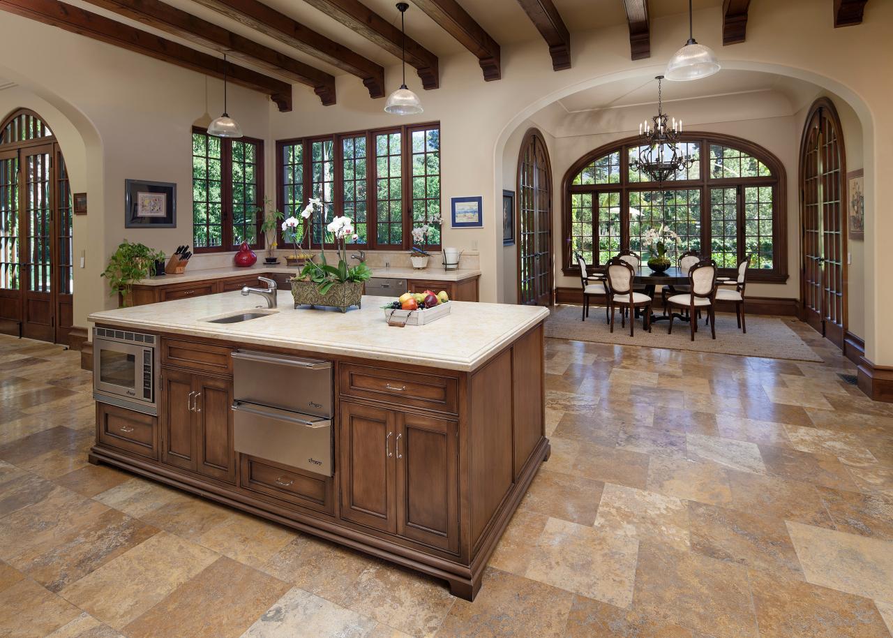 Rustic kitchen photos hgtv for Lavish kitchen designs