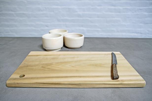 Poplar Wood Cutting Board