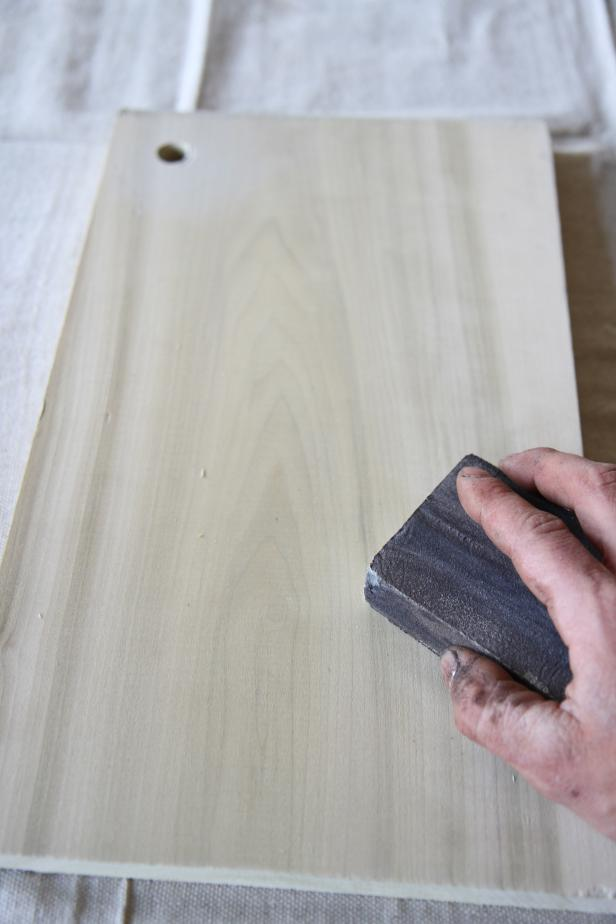 Sand Wood Piece