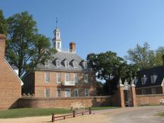 Governor's Palace in Williamsburg, Virginia