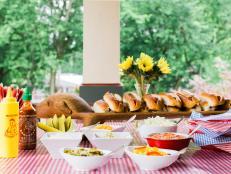 How to Set Up a Self-Serve Hot Dog Bar