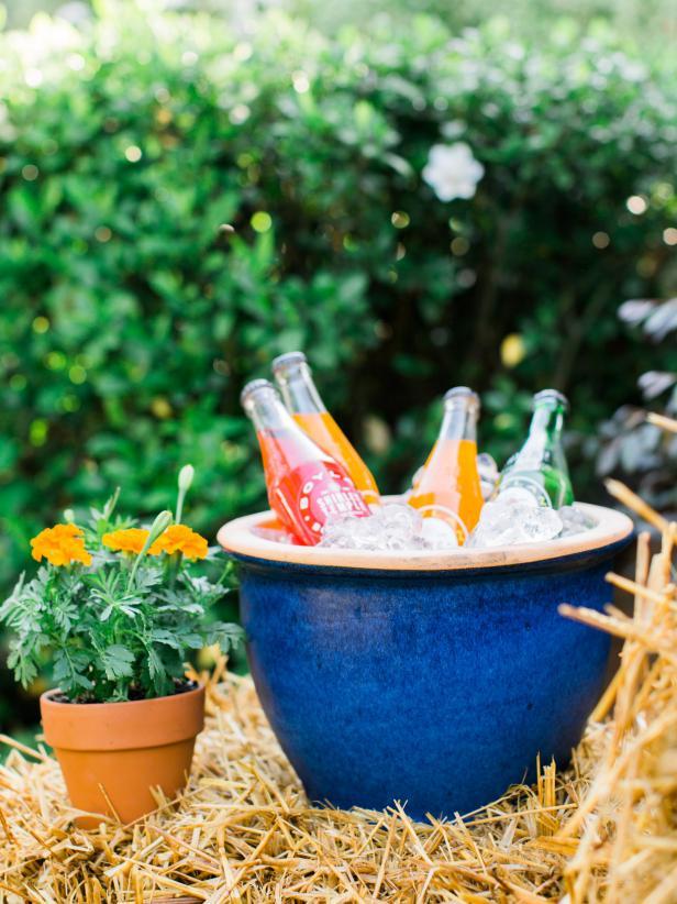 Ceramic Planter Drink Vessels
