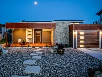Contemporary Home With Low-Maintenance Landscaping