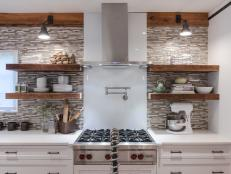 rustic modern details blend in this family friendly kitchen 7 photos - Rustic Modern Kitchen
