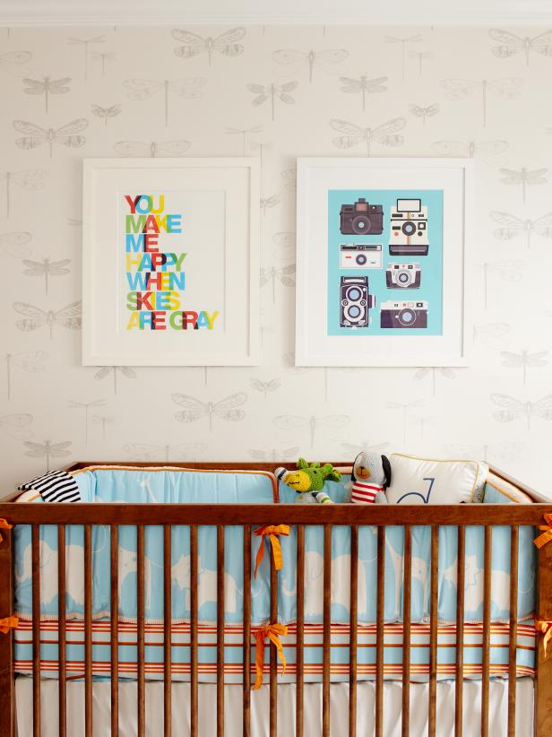 Nursery Design by Niche Interiors  - HGTV Design Blog