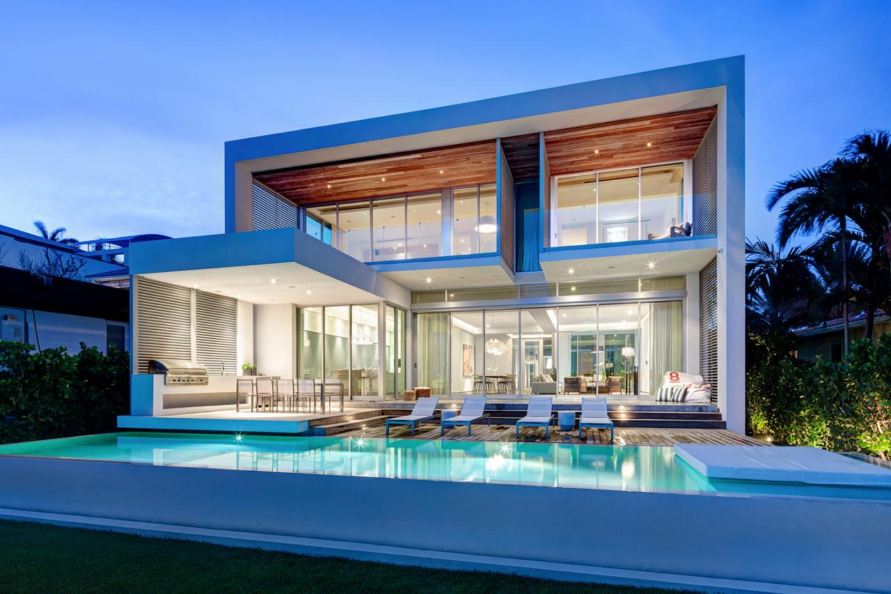 Modern Architecture Miami modern miami home with ocean view | [strang] architecture | hgtv