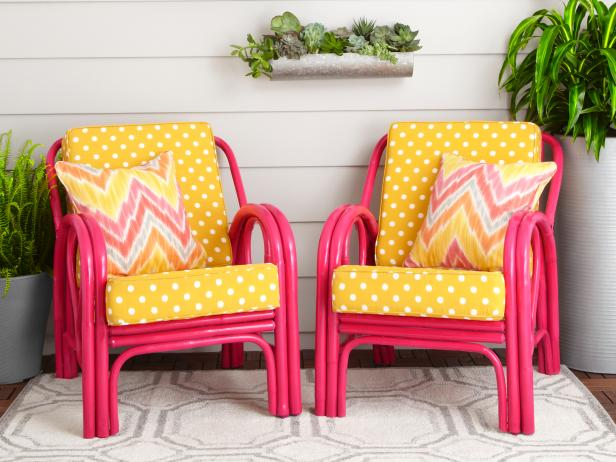 Patio Chairs Makeover