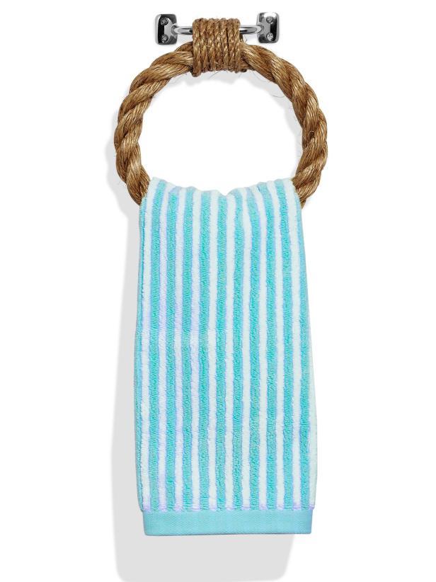 DIY Rope Towel Ring