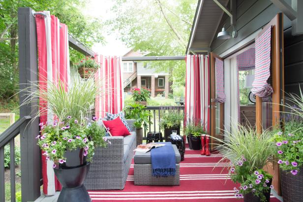 HGTV Urban Oasis 2015 Backyard Deck