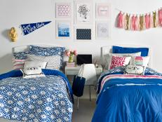 20 Chic and Functional Dorm Room Decorating Ideas Photos DIY Decor  HGTV