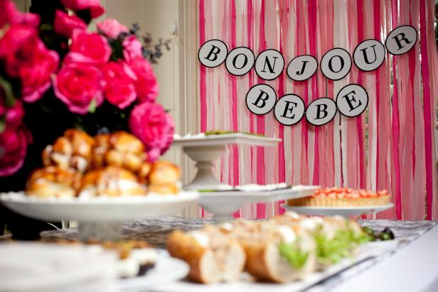 Host a French-Themed Baby Shower