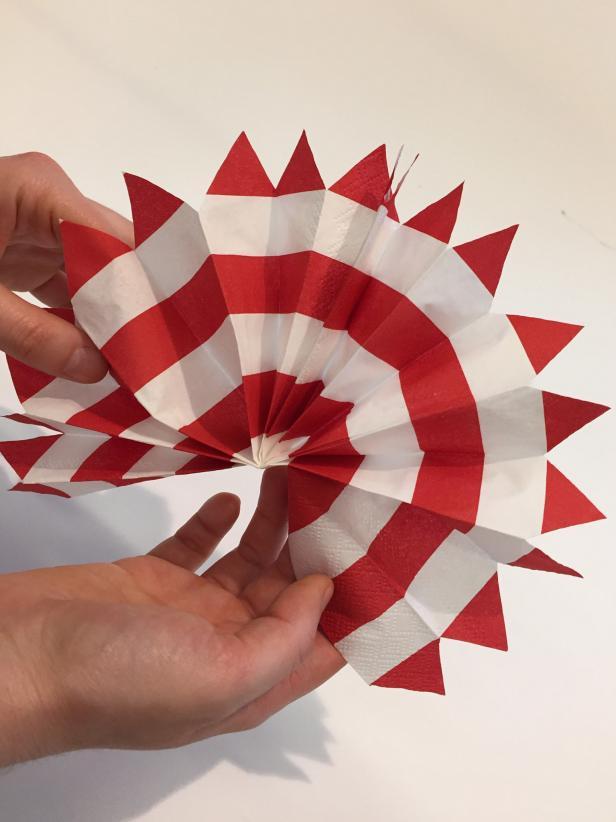 DIY Paper Pinwheel Decoration