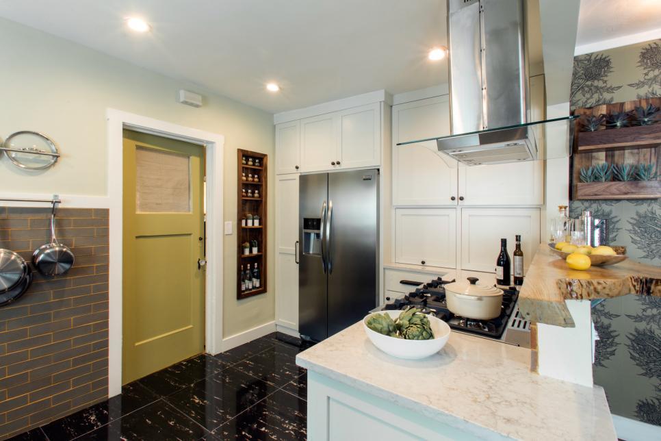 Desperate Kitchen Makeover Hollywood Regency Kitchen