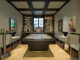 Contemporary Bonus Room