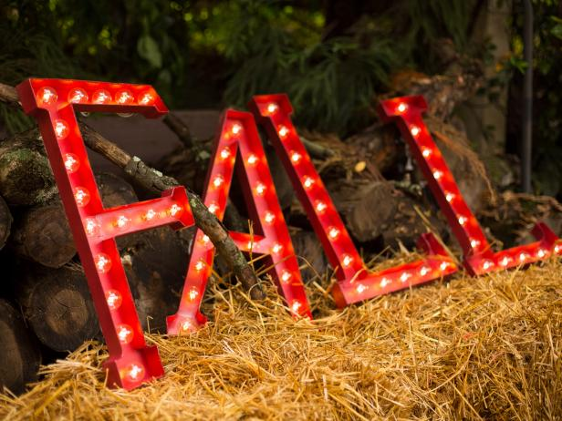 How to Make Marquee Letters