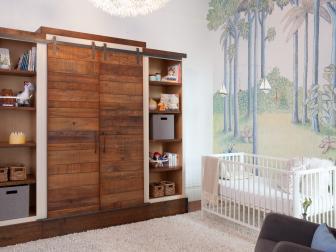 Nursery With Pine Armoire