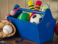 Portable Caddie for Toy Storage