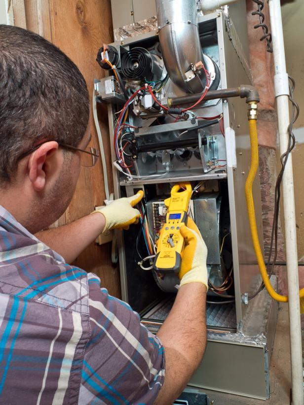 Repairing HVAC