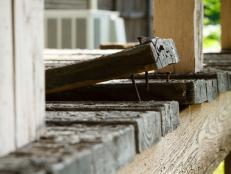 Broken Deck Board