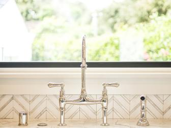 Kitchen Faucet Complements Updated County Kitchen
