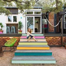 Tiny Eclectic House in Texas