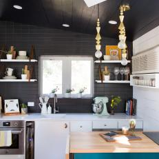 Tiny Eclectic Kitchen