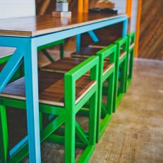 Colorful Custom Furnishings at ChiLantro