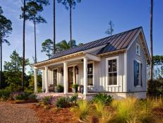 Small Low Country Cottage With Farmhouse Feel