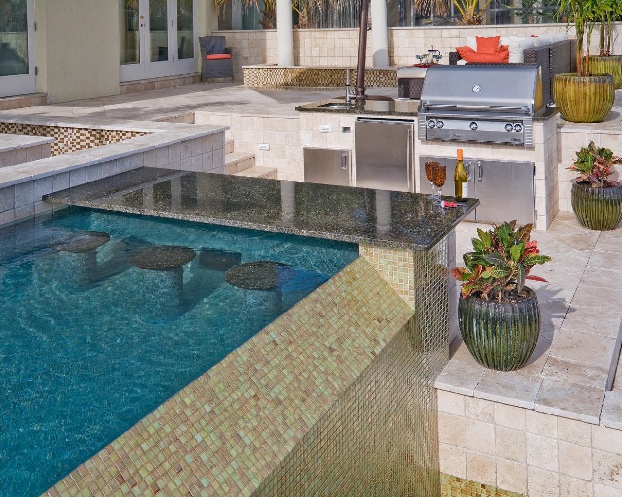 10 gorgeous backyard kitchen designs diy network blog made bountiful buffet space