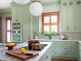 Cottage Kitchen Blends Traditional Elements with Modern Updates
