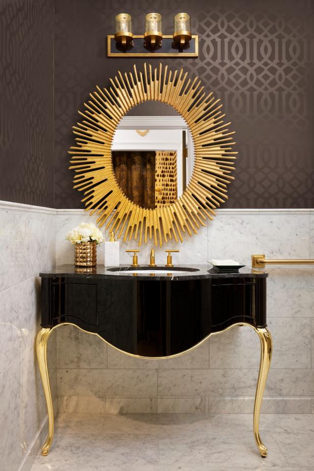 Art Deco Boutique Bathroom