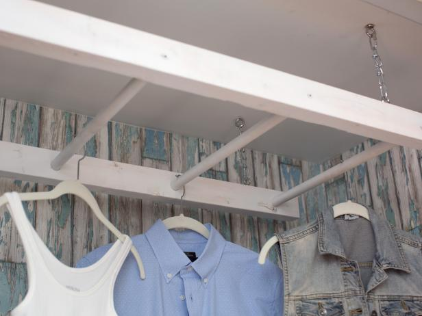 Diy Laundry Drying Rack Hgtv
