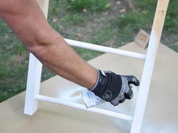 Step 3- Paint Ladder