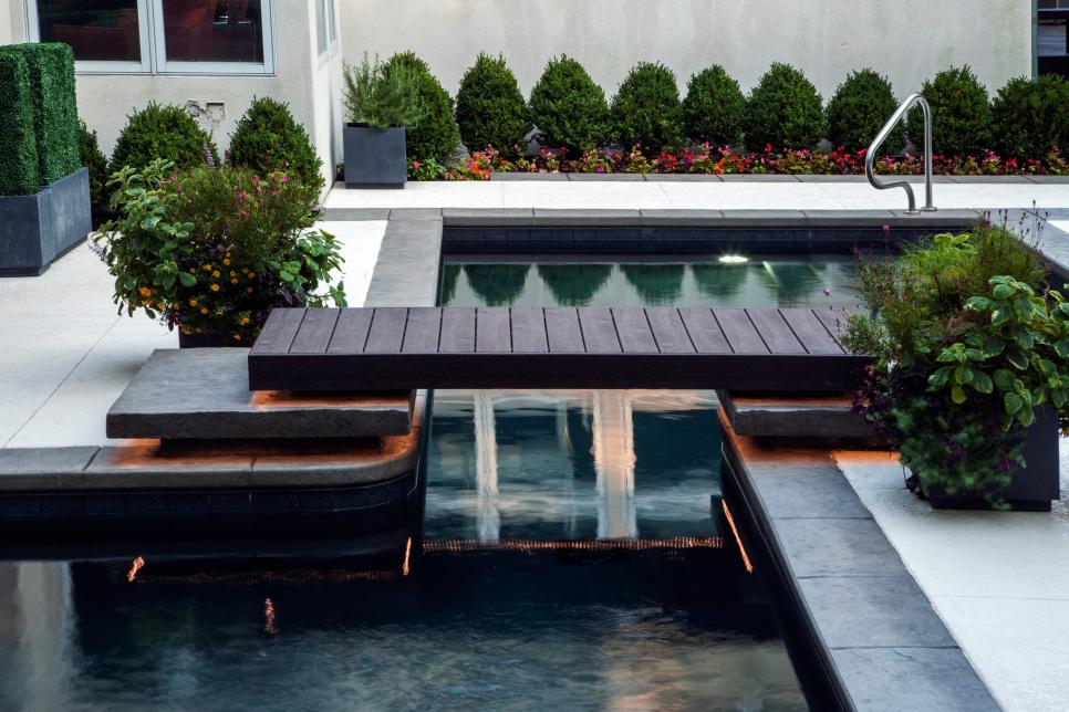 Garden Ideas Around Swimming Pools swimming pool design ideas | hgtv