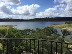 Lake, Sky and Trees View