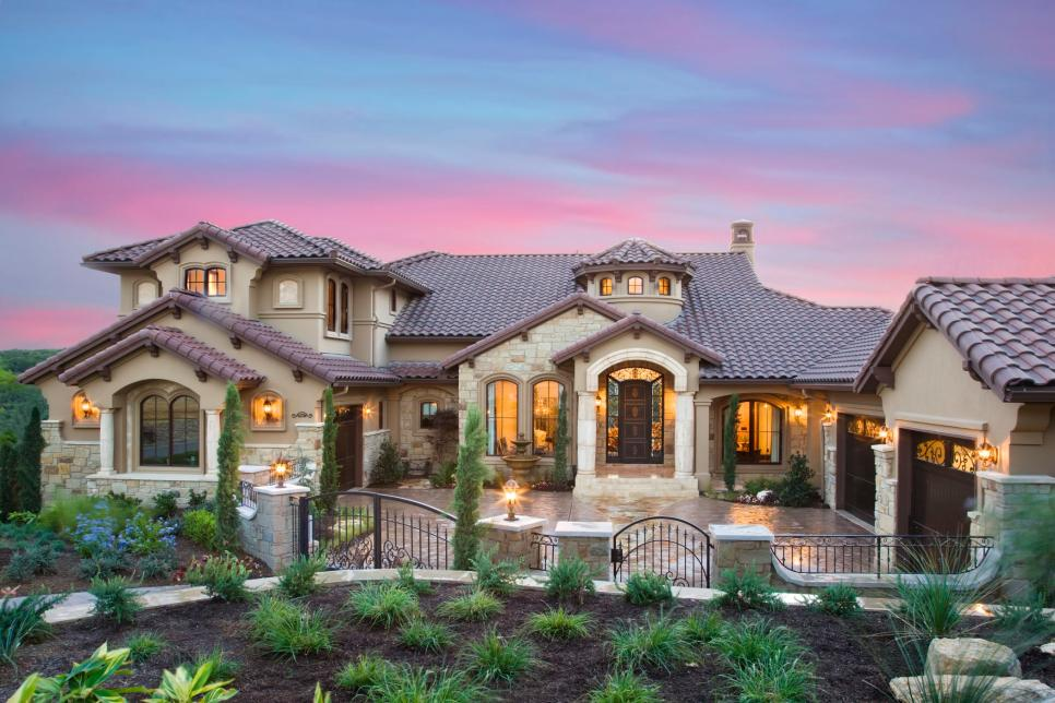 Lavish mediterranean estate with lake views jenkins Mediterranean custom homes