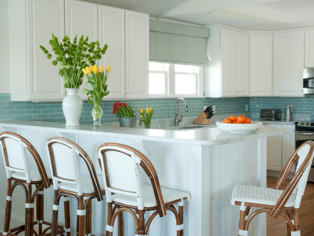 Boho Farmhouse Kitchen Backsplash